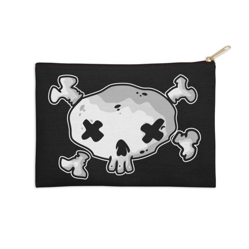 pirate skull Accessories Zip Pouch by manuvila
