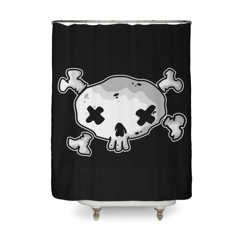 pirate skull Home Shower Curtain by manuvila