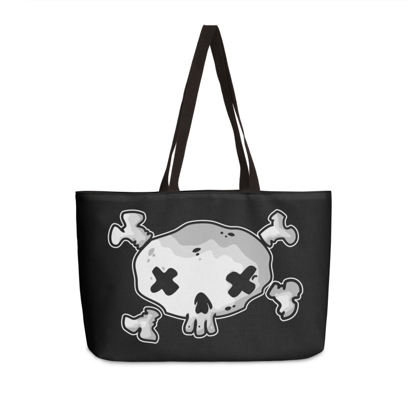 pirate skull Accessories Weekender Bag Bag by manuvila