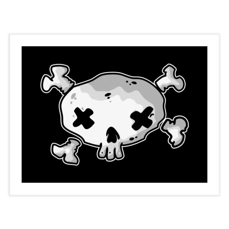 pirate skull Home Fine Art Print by manuvila