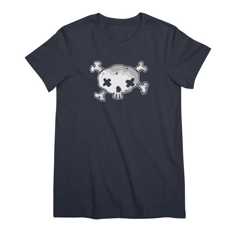 pirate skull Women's Premium T-Shirt by manuvila