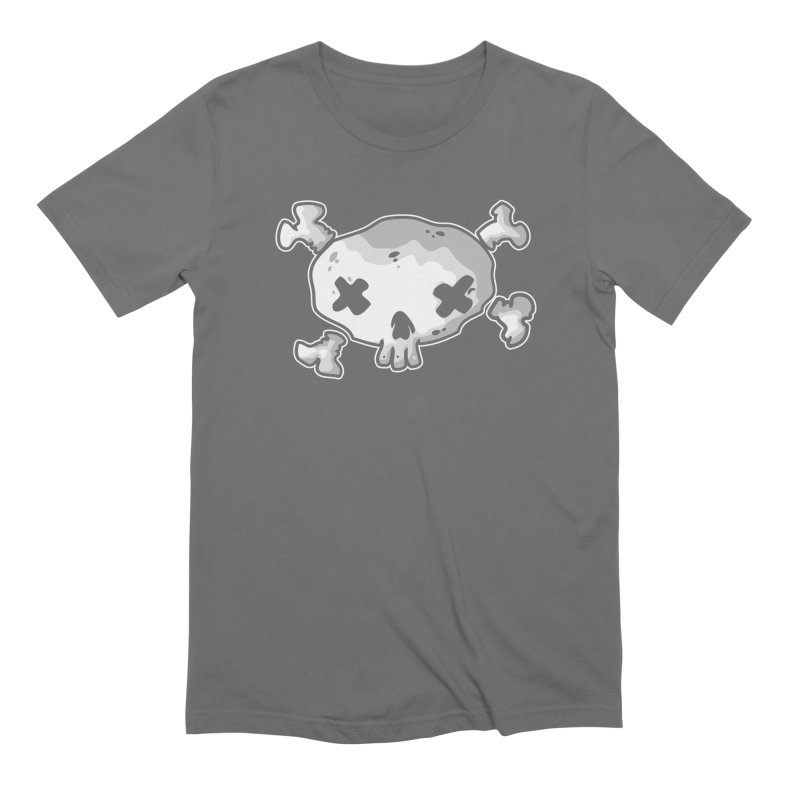 pirate skull Men's Extra Soft T-Shirt by manuvila
