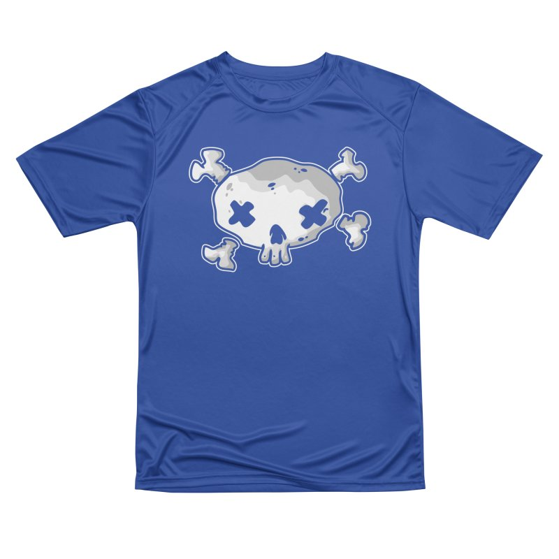 pirate skull Men's Performance T-Shirt by manuvila