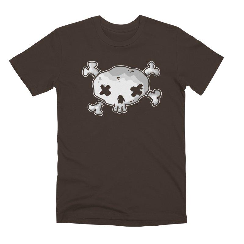 pirate skull Men's Premium T-Shirt by manuvila