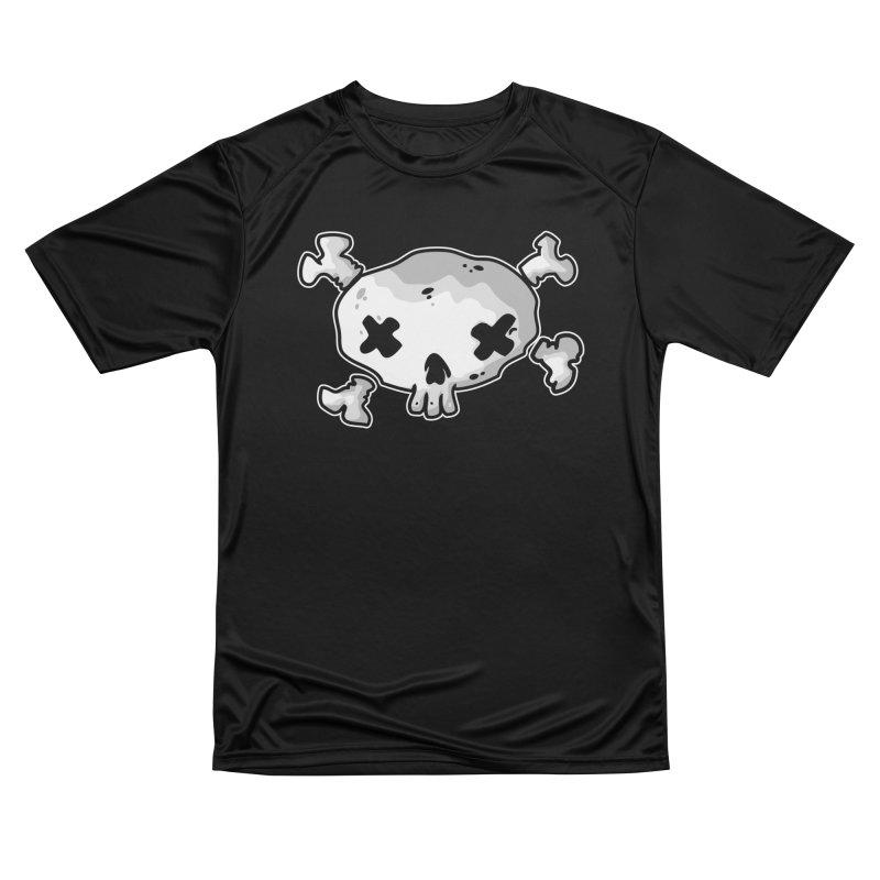 pirate skull Women's Performance Unisex T-Shirt by manuvila