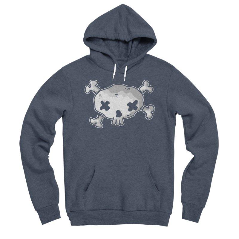 pirate skull Men's Sponge Fleece Pullover Hoody by manuvila