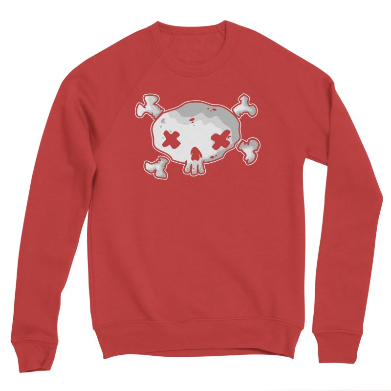 pirate skull Men's Sponge Fleece Sweatshirt by manuvila