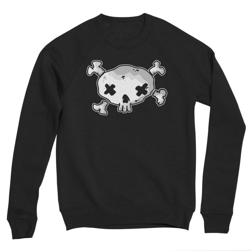 pirate skull Women's Sponge Fleece Sweatshirt by manuvila