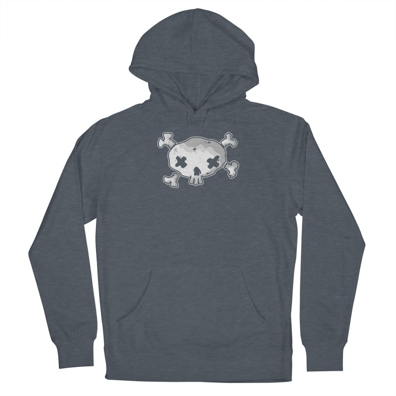 pirate skull Women's French Terry Pullover Hoody by manuvila