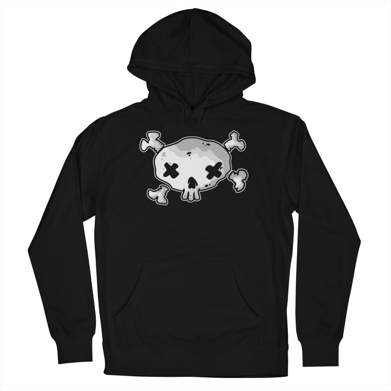 pirate skull Men's French Terry Pullover Hoody by manuvila