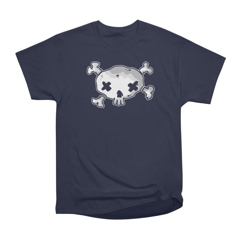 pirate skull Women's Heavyweight Unisex T-Shirt by manuvila