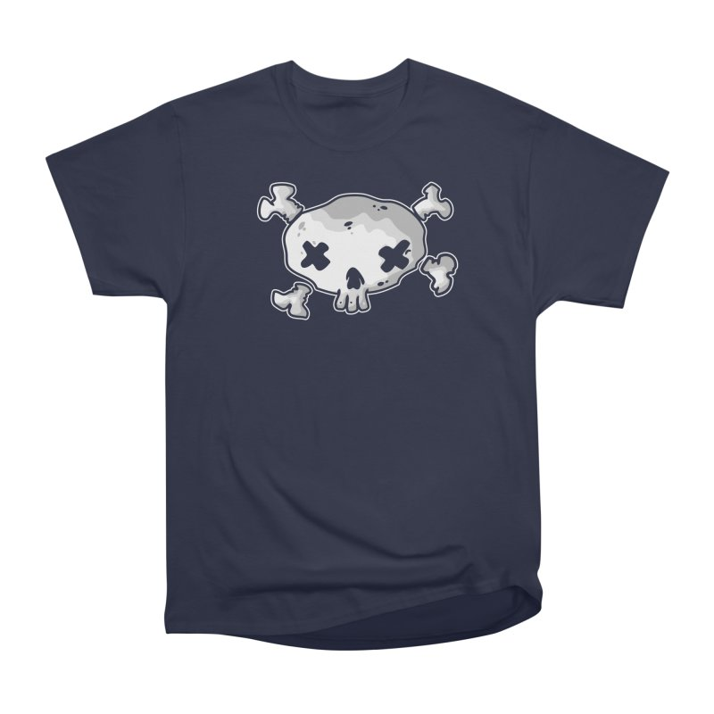 pirate skull Men's Heavyweight T-Shirt by manuvila