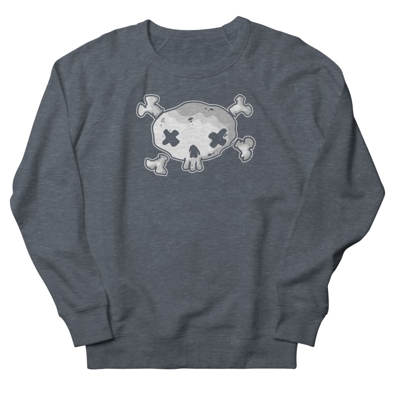 pirate skull Women's French Terry Sweatshirt by manuvila