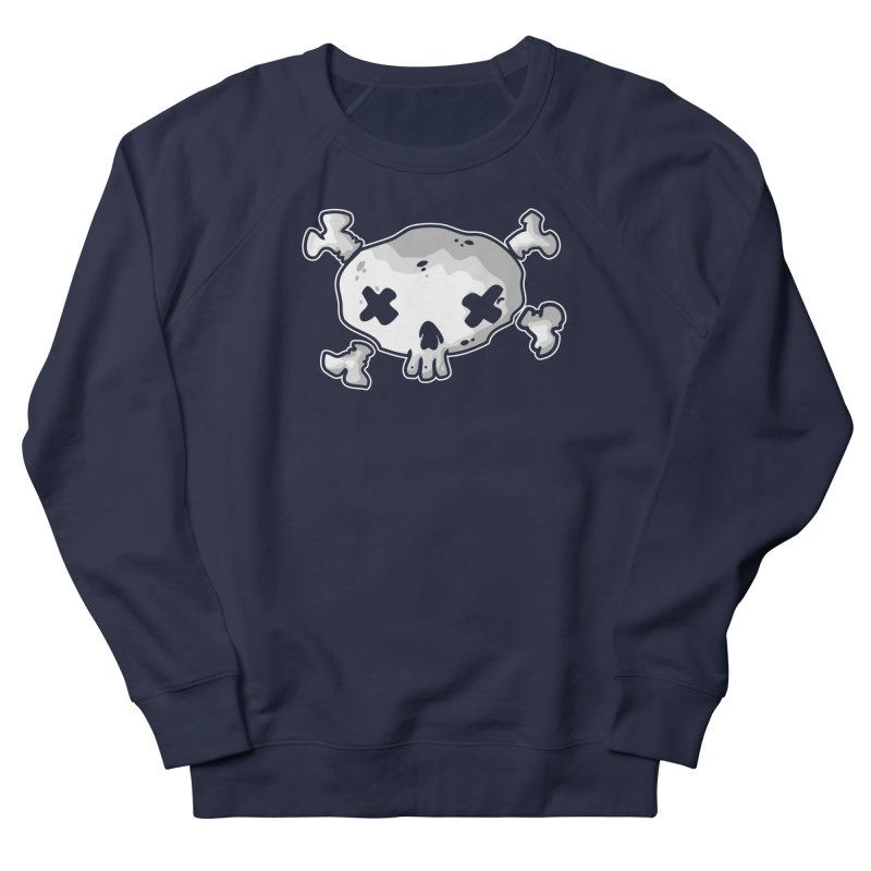 pirate skull Men's French Terry Sweatshirt by manuvila