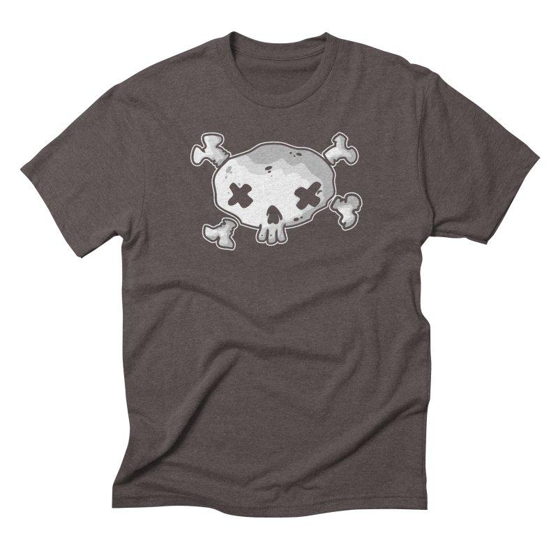 pirate skull Men's Triblend T-Shirt by manuvila