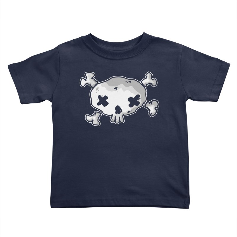 pirate skull Kids Toddler T-Shirt by manuvila
