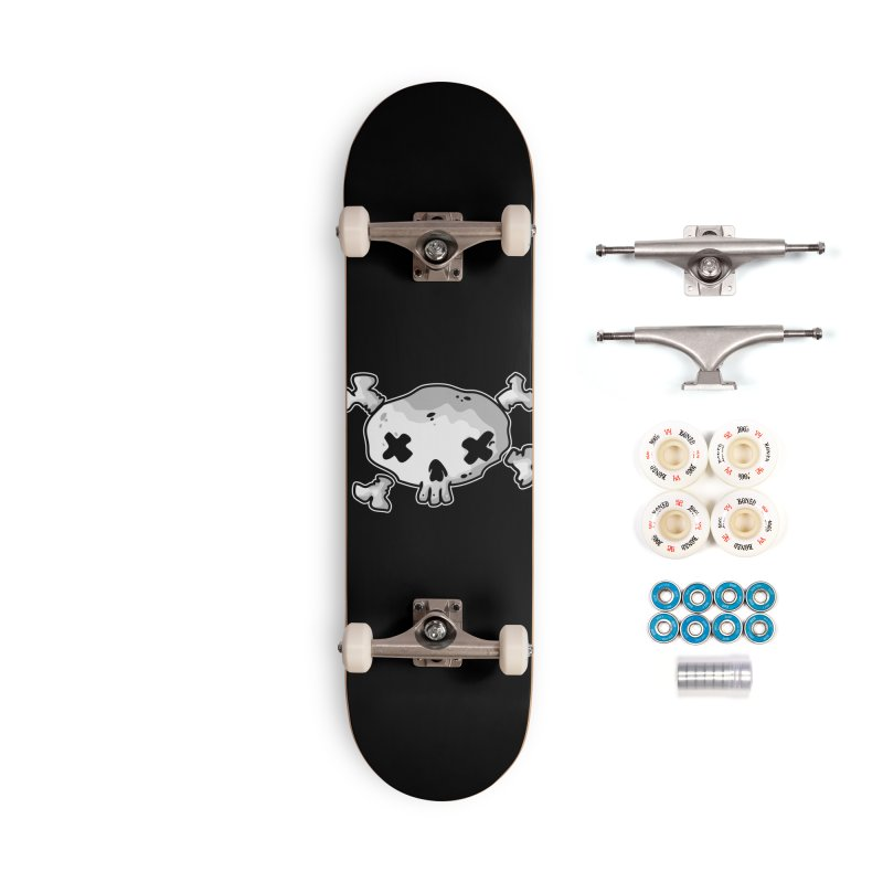 pirate skull Accessories Complete - Premium Skateboard by manuvila