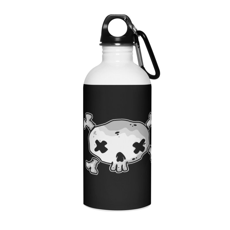 pirate skull Accessories Water Bottle by manuvila
