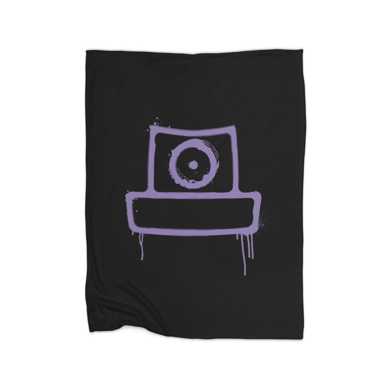 spray can Home Fleece Blanket Blanket by manuvila