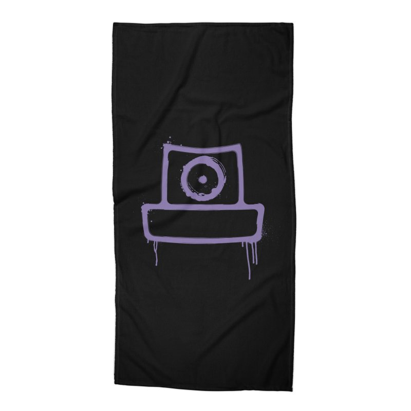 spray can Accessories Beach Towel by manuvila