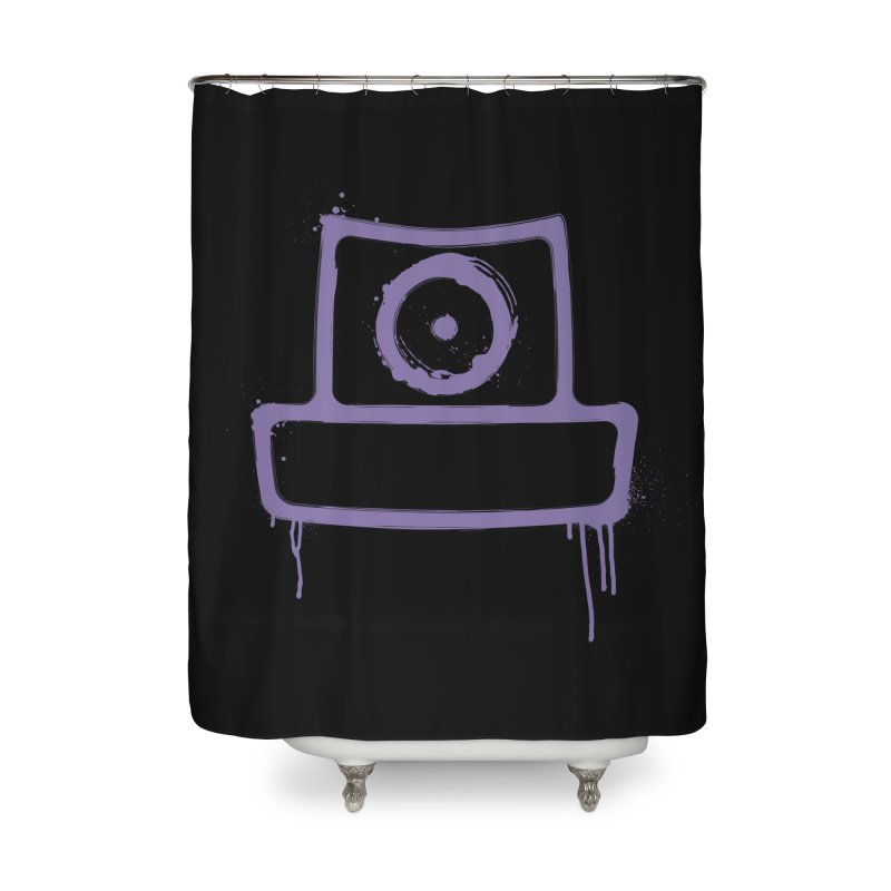 spray can Home Shower Curtain by manuvila