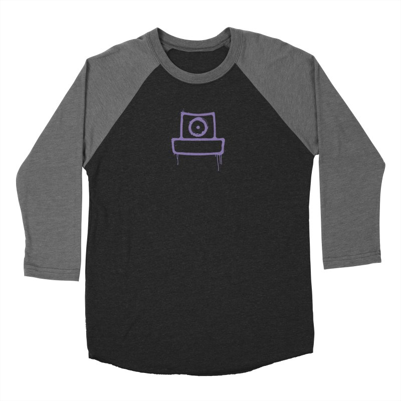 spray can Women's Baseball Triblend Longsleeve T-Shirt by manuvila
