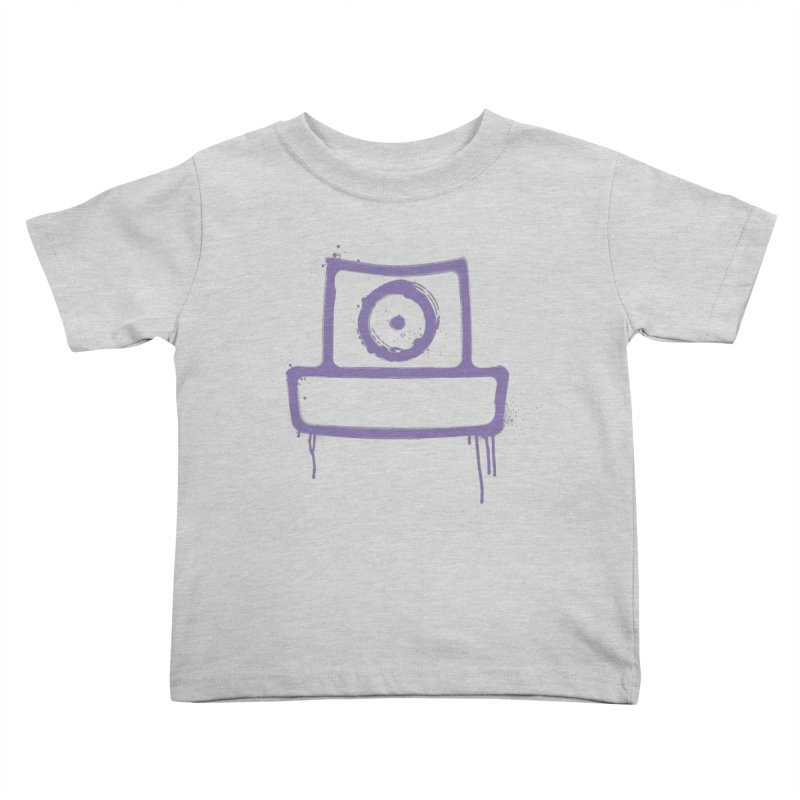 spray can Kids Toddler T-Shirt by manuvila