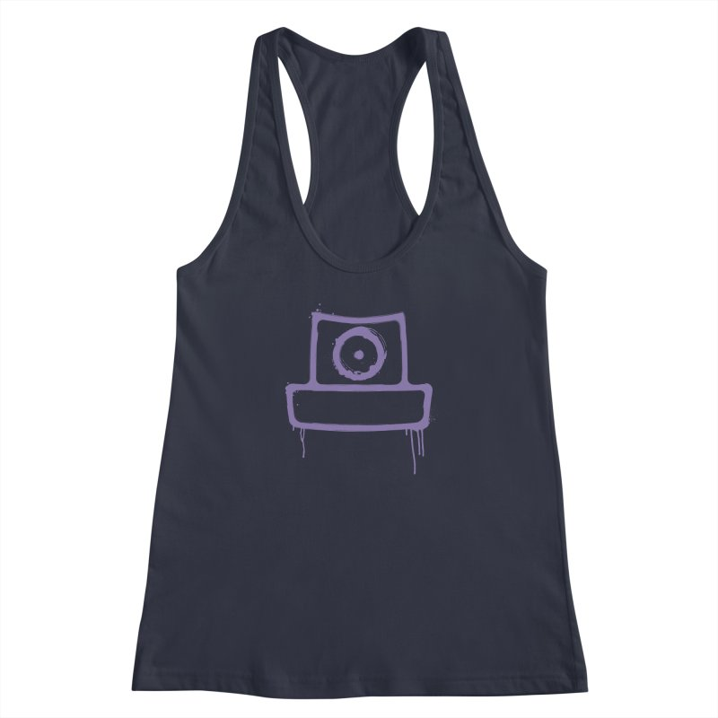 spray can Women's Racerback Tank by manuvila