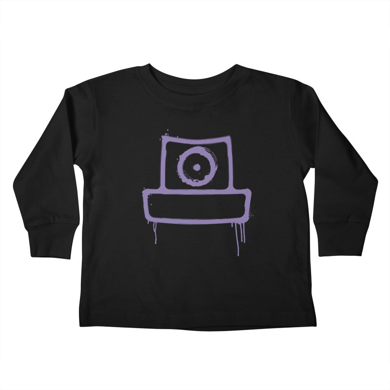 spray can Kids Toddler Longsleeve T-Shirt by manuvila