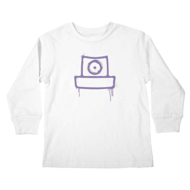 spray can Kids Longsleeve T-Shirt by manuvila