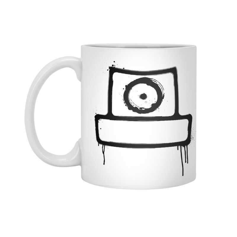 spray can black Accessories Standard Mug by manuvila