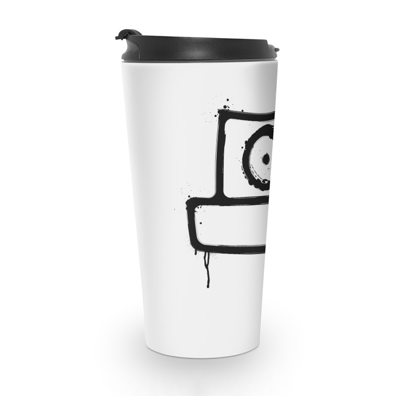 spray can black Accessories Travel Mug by manuvila