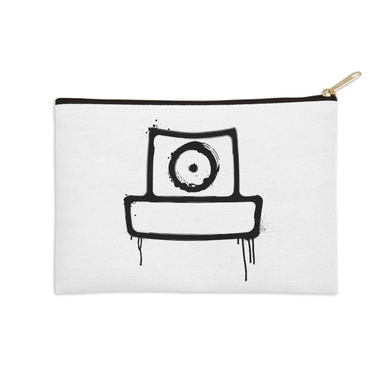 spray can black Accessories Zip Pouch by manuvila