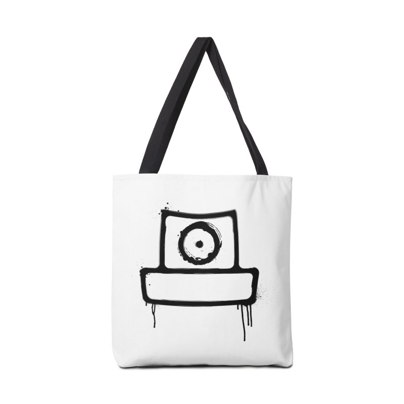 spray can black Accessories Tote Bag Bag by manuvila