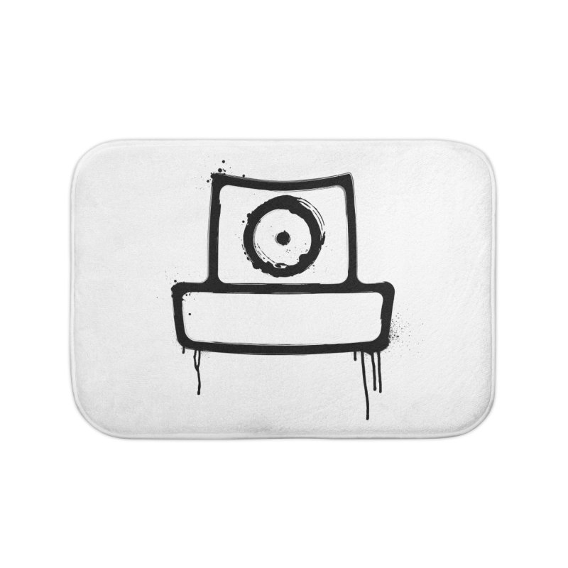 spray can black Home Bath Mat by manuvila