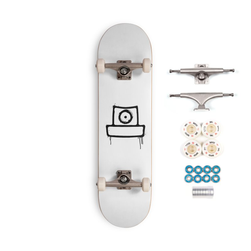 spray can black Accessories Complete - Premium Skateboard by manuvila