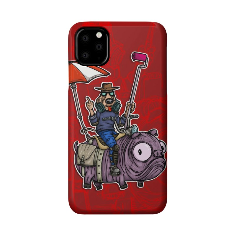 dog paint Accessories Phone Case by manuvila