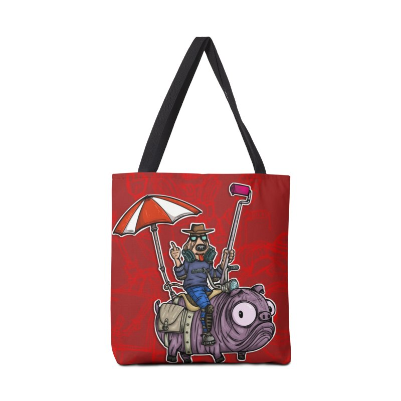 dog paint Accessories Tote Bag Bag by manuvila