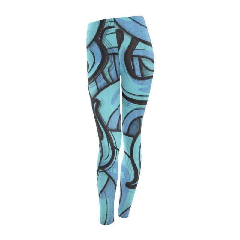 Kraken cap Women's Leggings Bottoms by manuvila