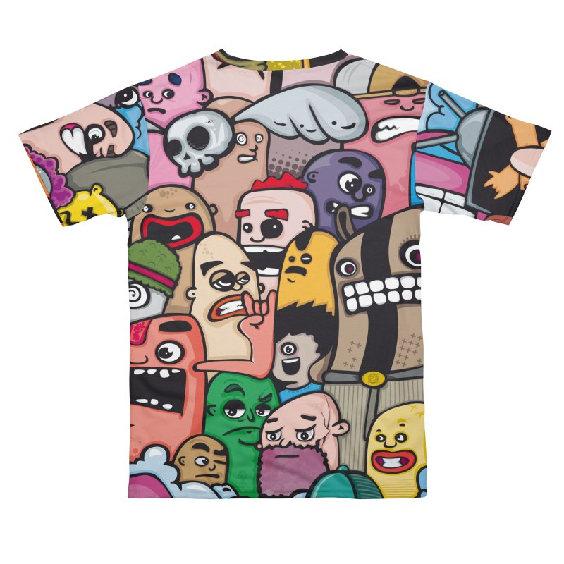 color doodle Women's Cut & Sew by manuvila