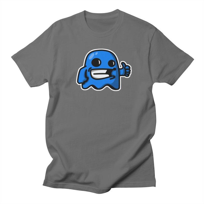 ghost like blue Men's T-Shirt by manuvila