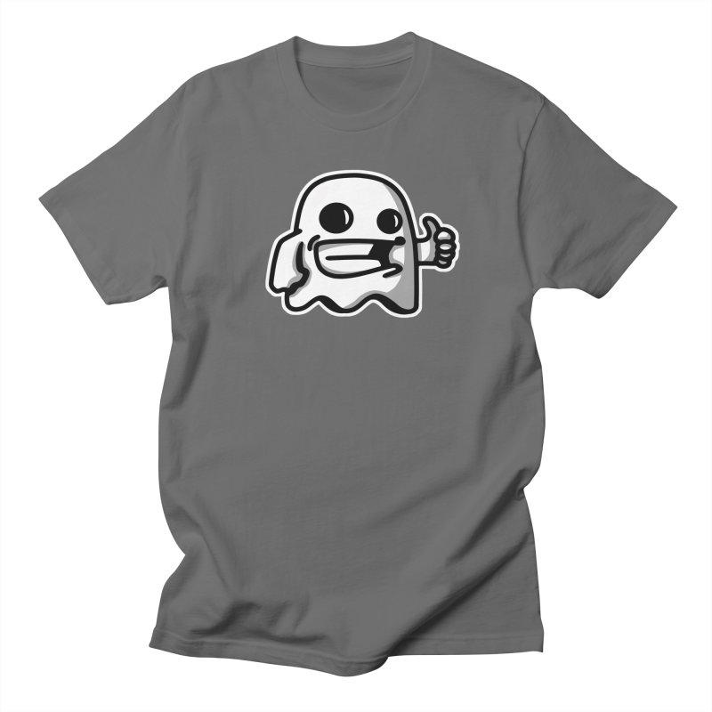 ghost like white Men's T-Shirt by manuvila