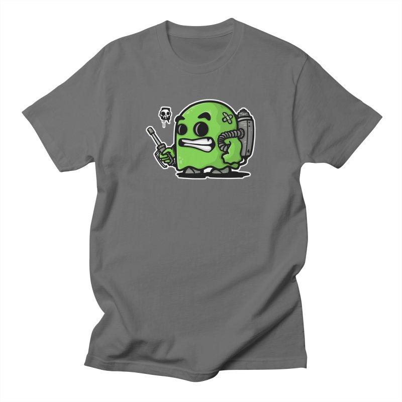 Ghost hunter green Men's T-Shirt by manuvila