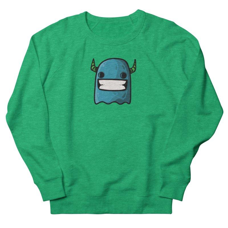 horned ghost blue Women's Sweatshirt by manuvila