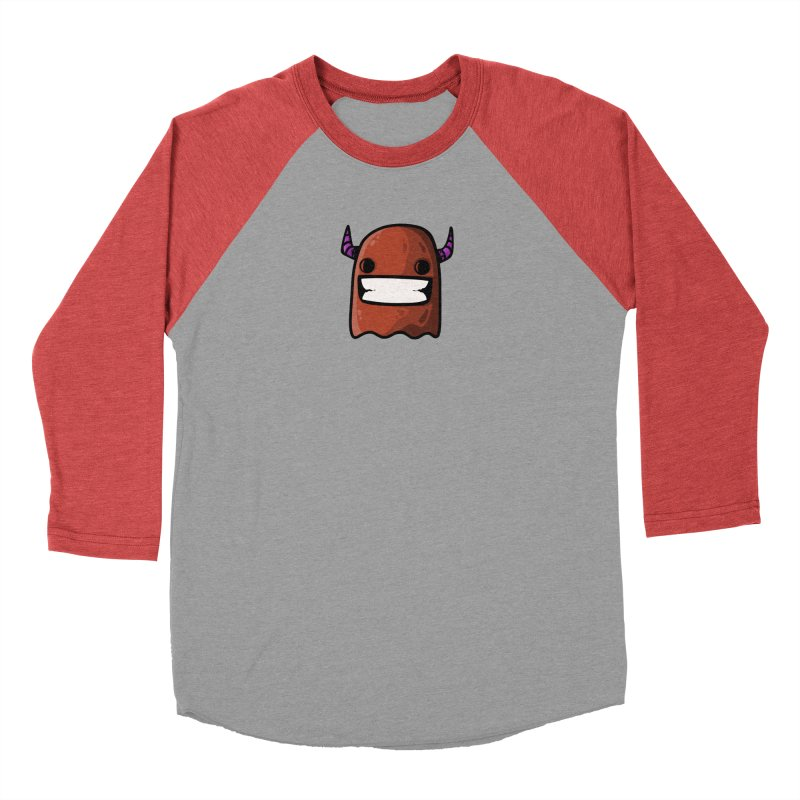 horned ghost brown Men's Longsleeve T-Shirt by manuvila