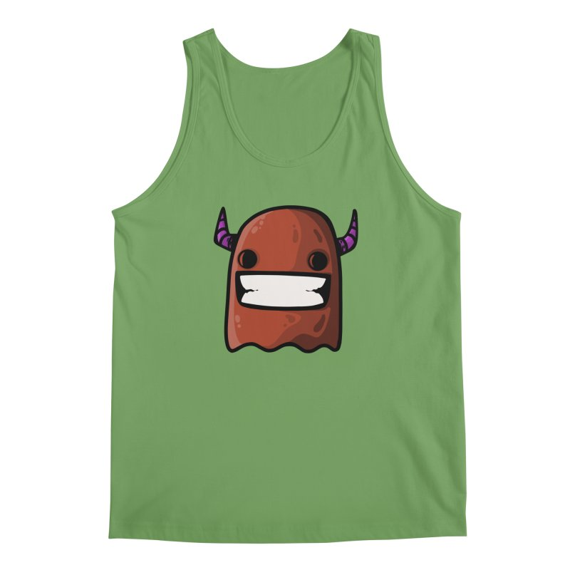 horned ghost brown Men's Tank by manuvila