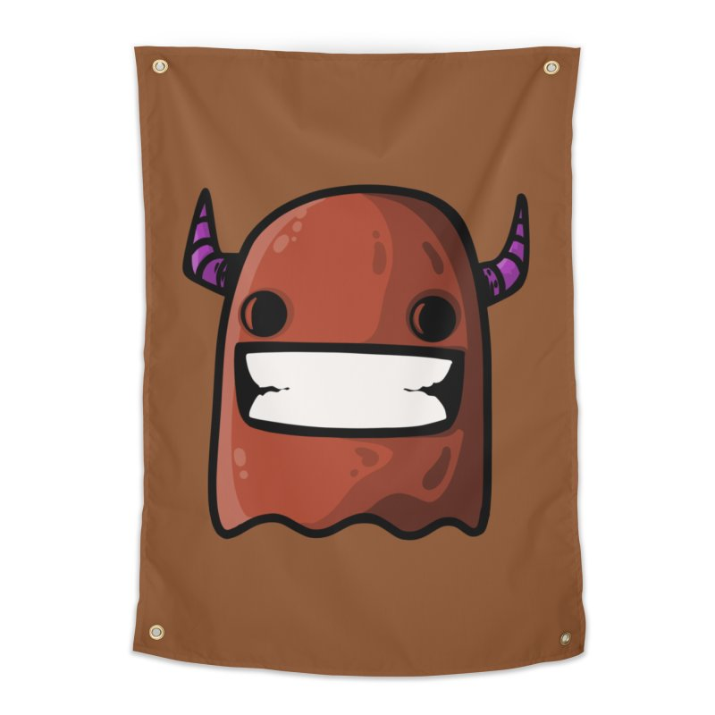 horned ghost brown Home Tapestry by manuvila
