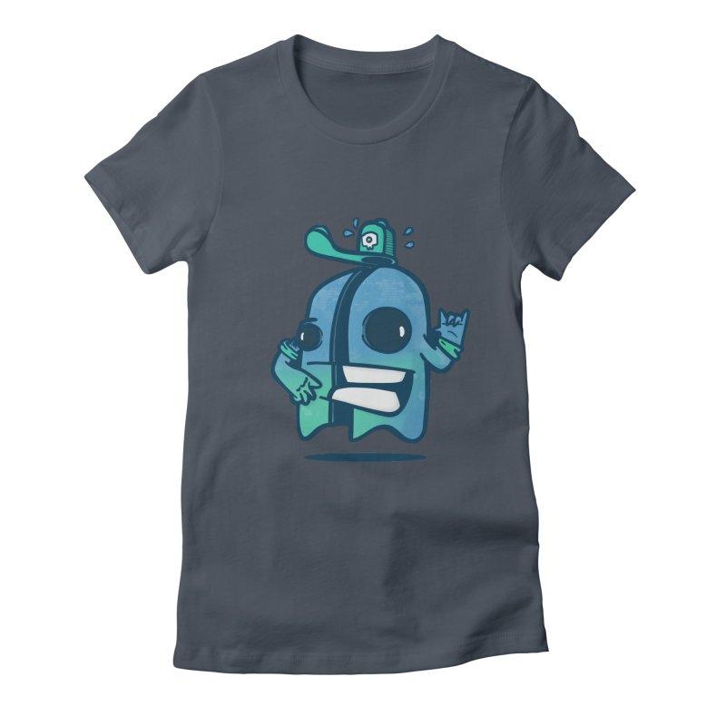 little ghost cut in half Women's T-Shirt by manuvila