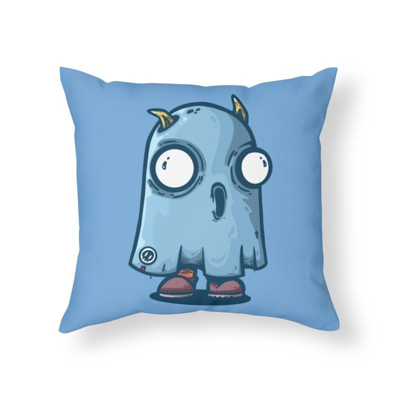 buu Home Throw Pillow by manuvila
