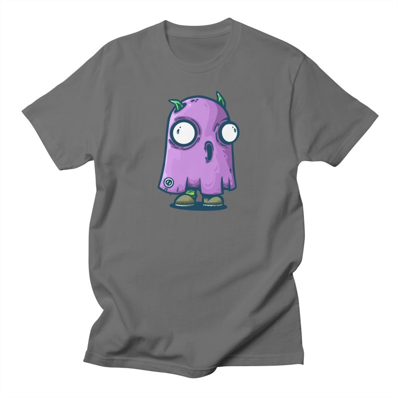 ghost trying to scare Men's T-Shirt by manuvila